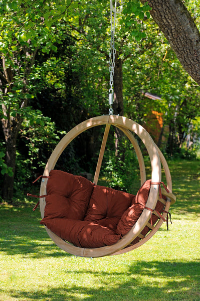 Globo Chair, Terra Cotta, NEW! Outdoor Fabric - Swings N' Hammocks - 3