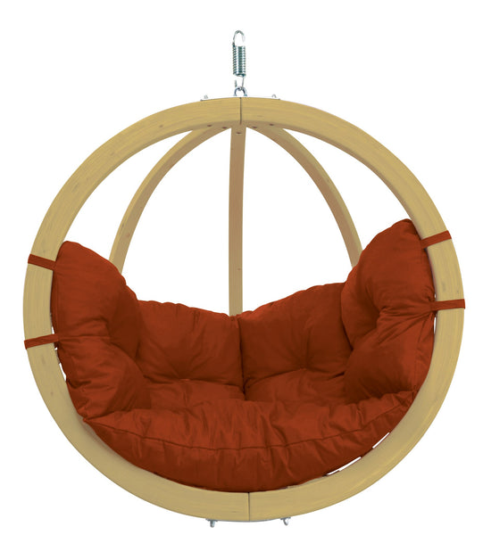 Globo Chair, Terra Cotta, NEW! Outdoor Fabric - Swings N' Hammocks - 1