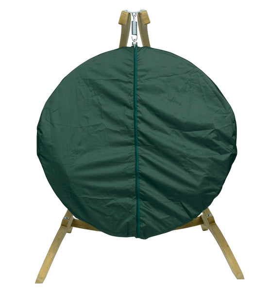 Globo Double Weather Cover Green - Swings N' Hammocks - 1