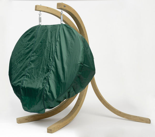 Globo Double Weather Cover Green - Swings N' Hammocks - 2