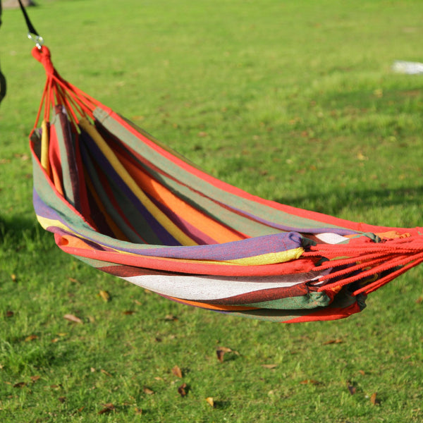 Adeco Naval-Style Outdoor Hammock Chair - Swings N' Hammocks - 1