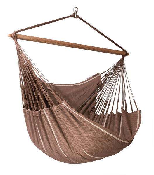 HABANA Organic Lounger Hammock Chair chocolate - Swings N' Hammocks - 1