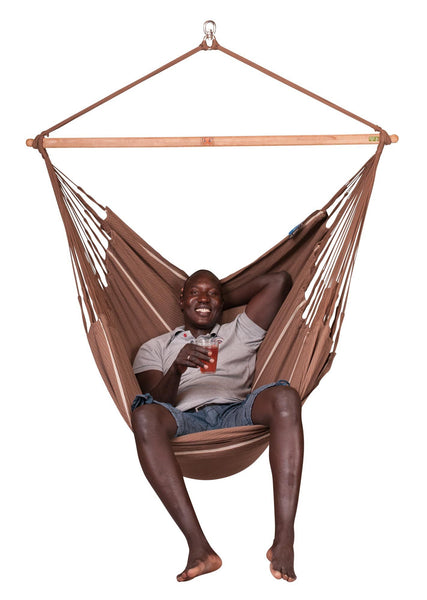 HABANA Organic Lounger Hammock Chair chocolate - Swings N' Hammocks - 2