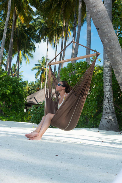 HABANA Organic Lounger Hammock Chair chocolate - Swings N' Hammocks - 4