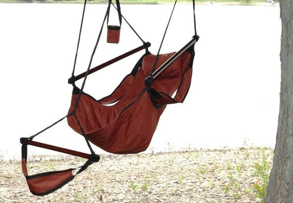 Hammaka Hammocks Original Hanging Air Chair In Burgundy - Swings N' Hammocks - 2