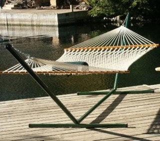 Hammock Stand HSGREEN - Swings N' Hammocks - 1