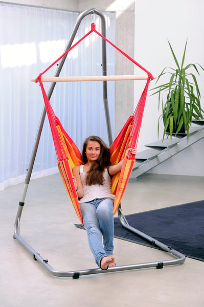 Luna Swinging Chair Stand Rockstone - Swings N' Hammocks - 1