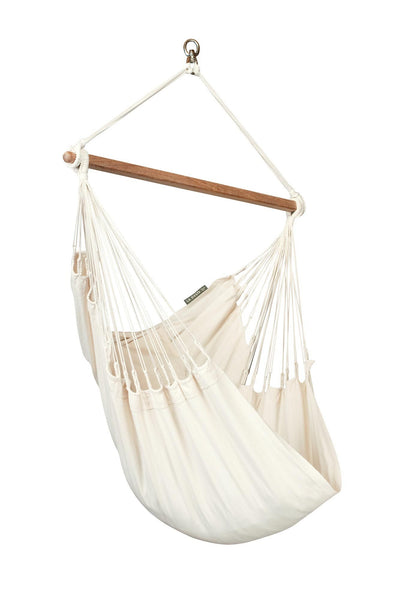 MODESTA Organic Basic Hammock Chair latte - Swings N' Hammocks - 1
