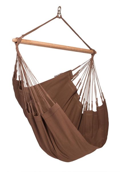 MODESTA Organic Basic Hammock Chair arabica - Swings N' Hammocks - 1