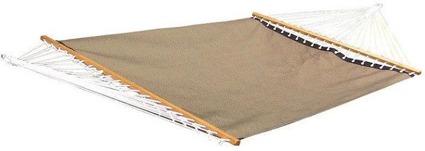 POOLSIDE HAMMOCK - DOUBLE (Taupe) - Swings N' Hammocks - 1