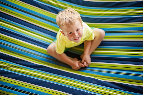 QUILTED FABRIC HAMMOCK - DOUBLE - Swings N' Hammocks - 2