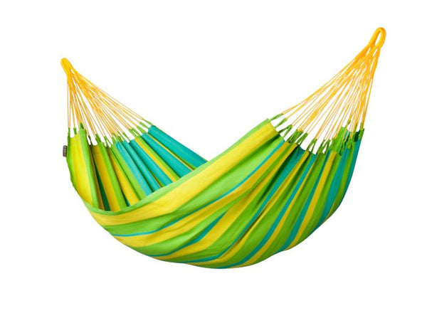 Sonrisa Lime - Weather-resistant Single Classic Hammock