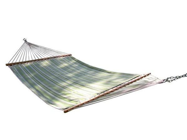 SUNBRELLA QUILTED HAMMOCK - DOUBLE (Foster Surfside) - Swings N' Hammocks - 1