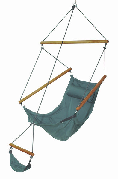 Swinger Hanging Chair Forest Green - Swings N' Hammocks
