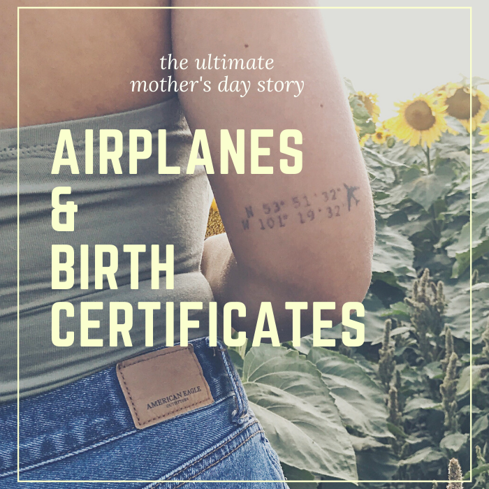 Airplanes and Birth Certificates