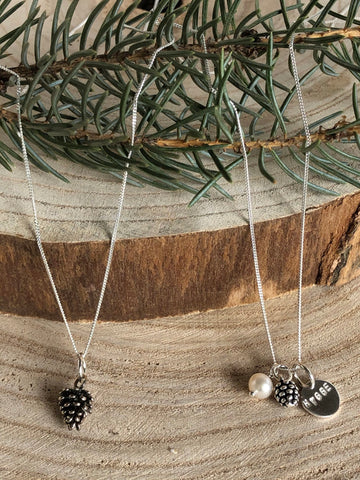 Pinecone Necklace Hygge Collab