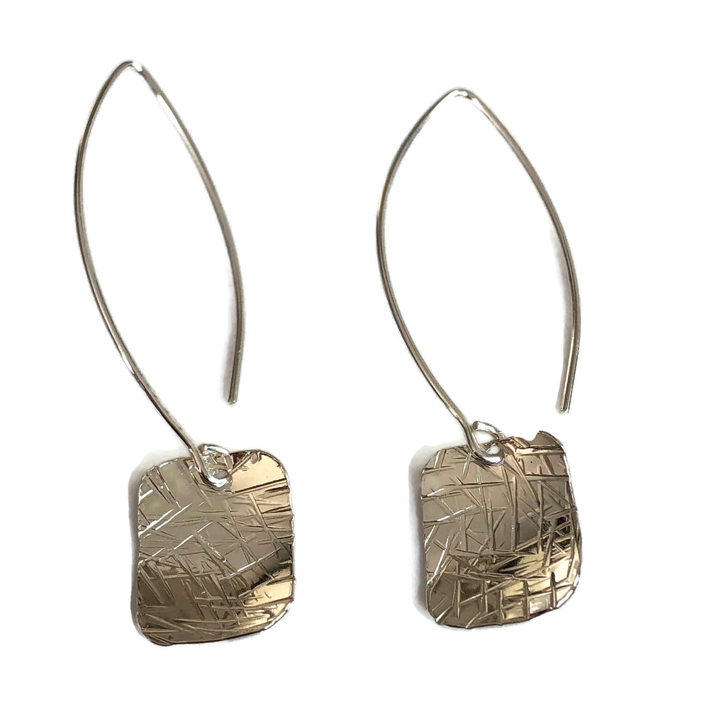 Cross Hatch Earrings