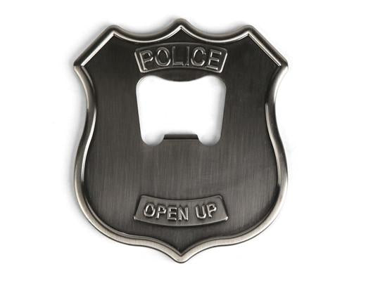 Custom Police Badge Bottle Opener