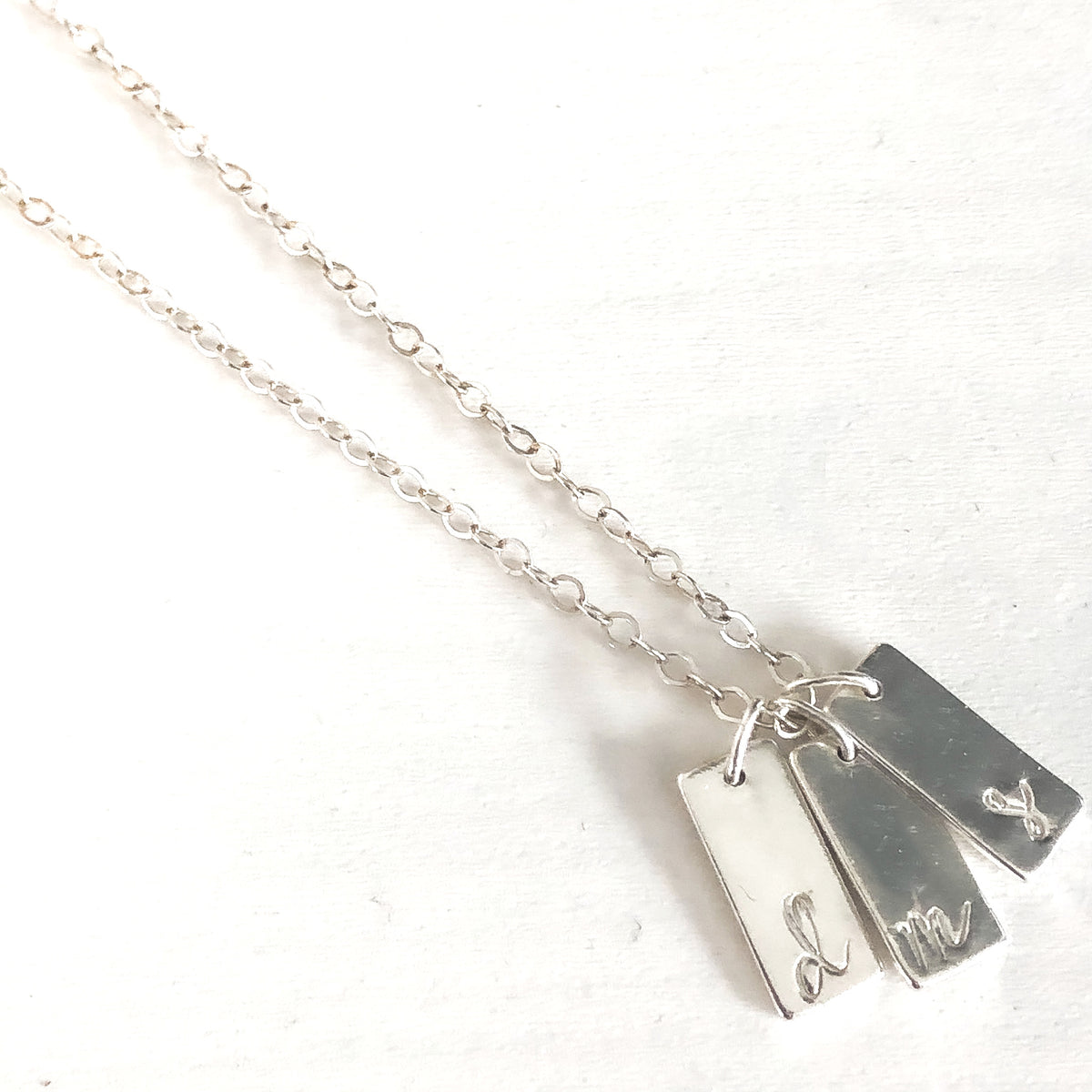 Tiny Tag Necklace