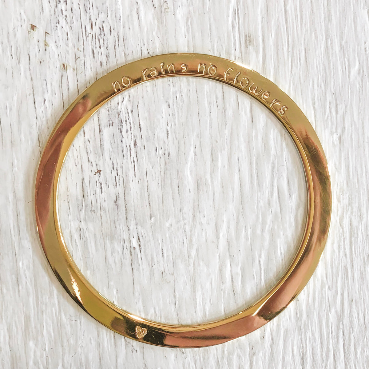 Handstamped Maya Bangle