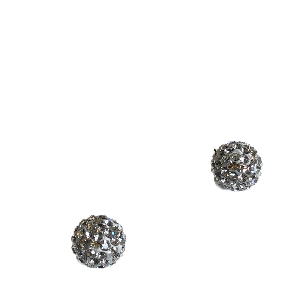 Glitter Ball Studs -Assorted