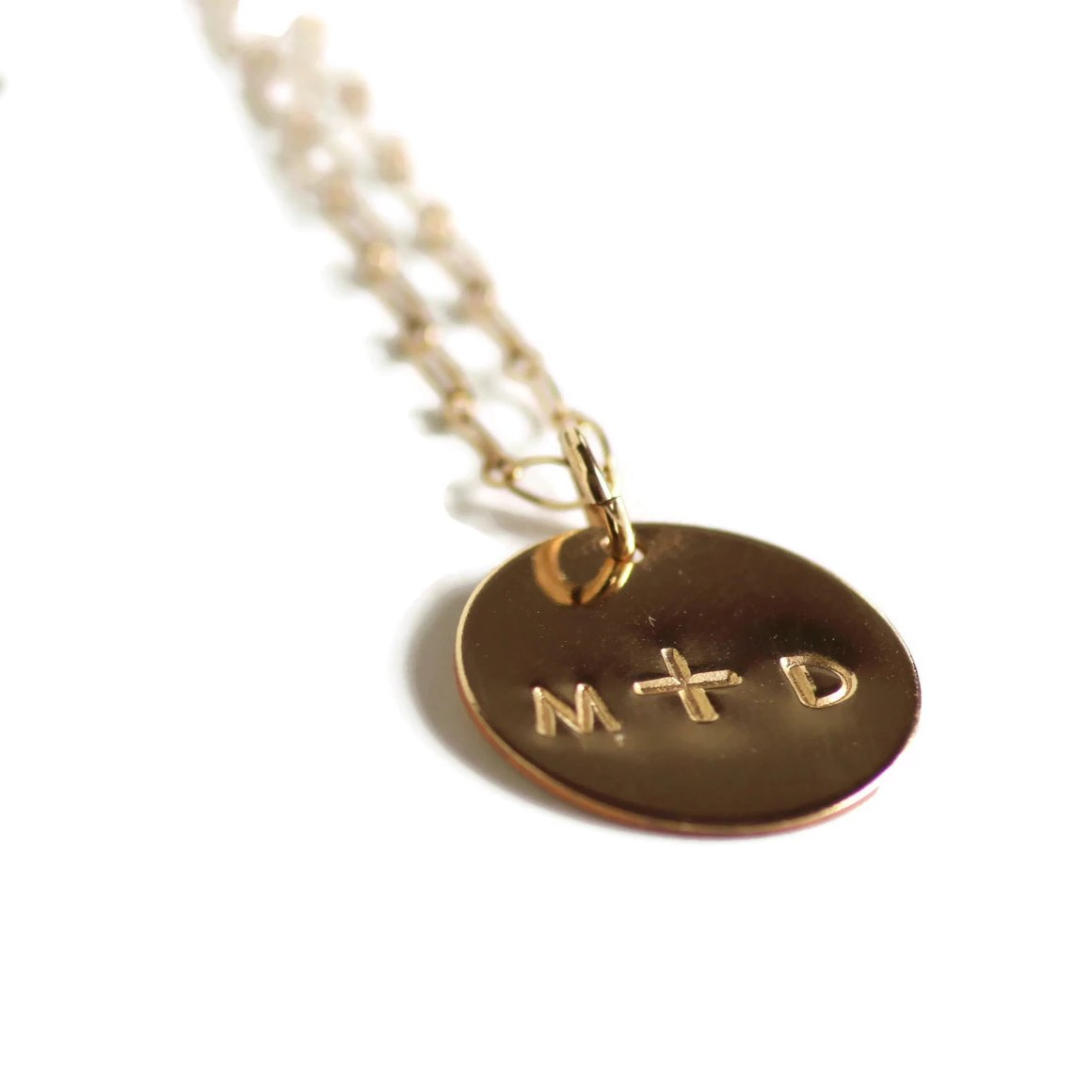 Gold Filled You & Me Necklace by Marni LuHu
