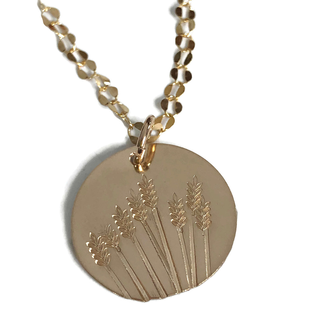 Golden  Fields Necklace