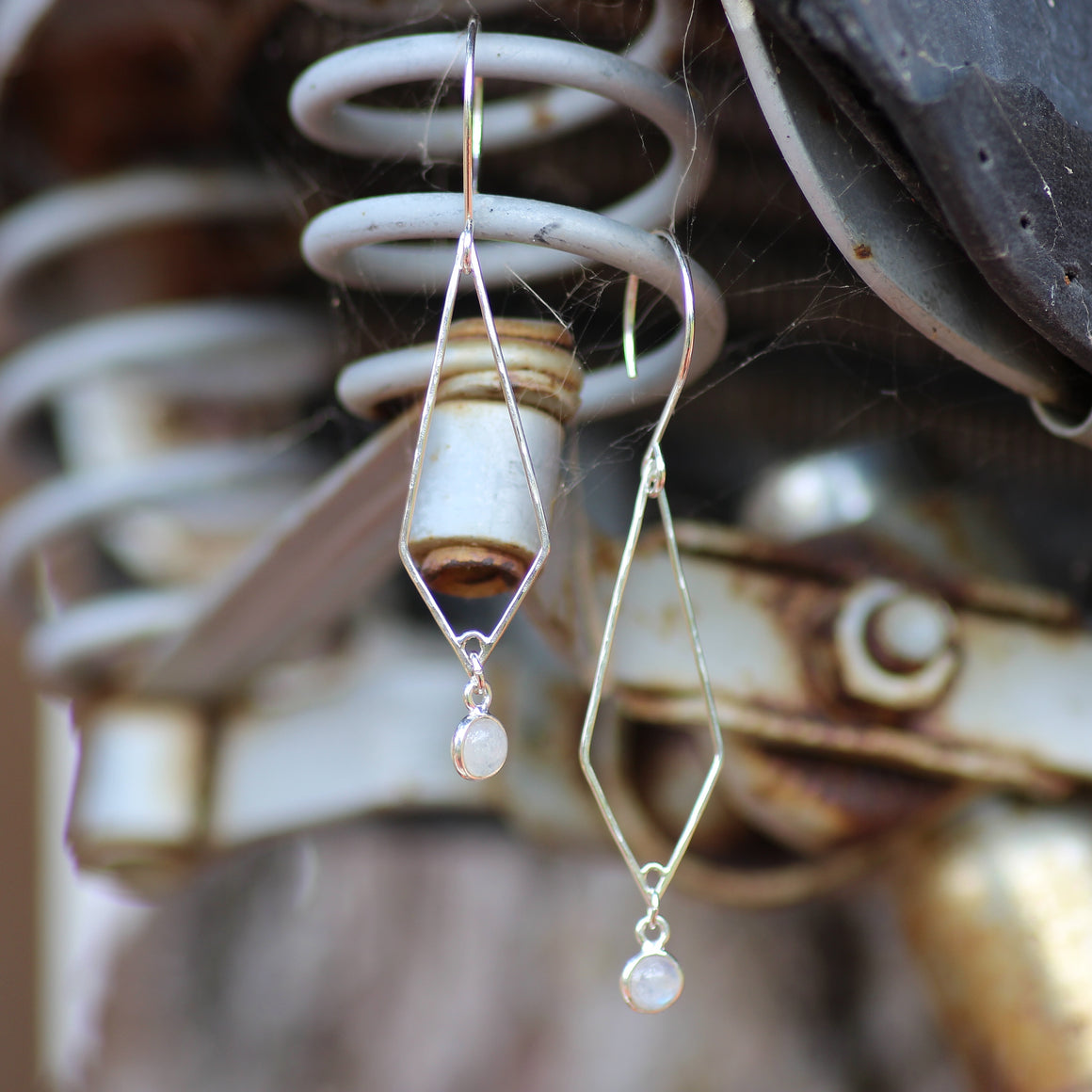 Forma Moonstone Earrings