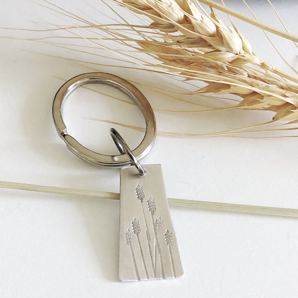 Prairie Wheat Key Chain