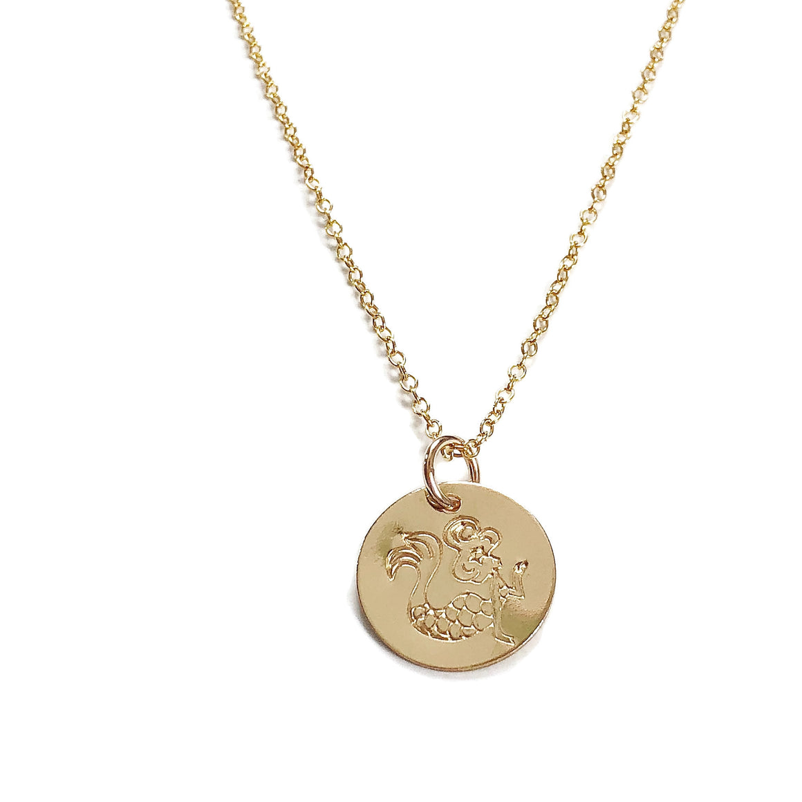 Marni LuHu Gold Mermaid Necklace