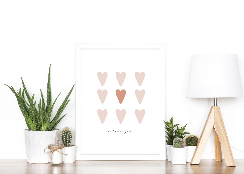 Nine of Hearts Blush by Marni LuHu Designs