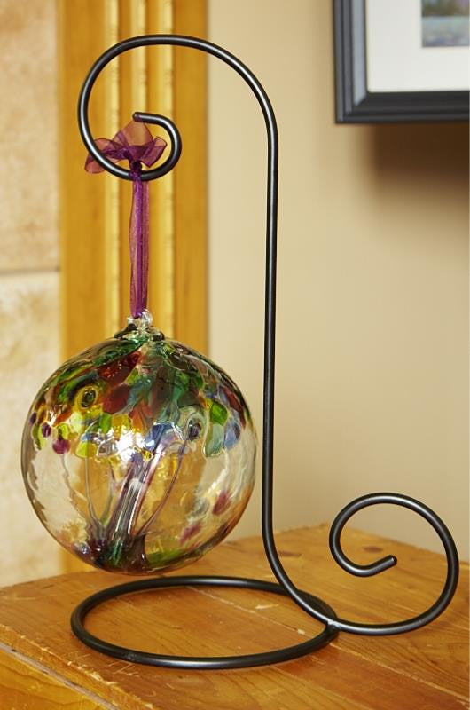 Kitras Art Glass Metal Stand