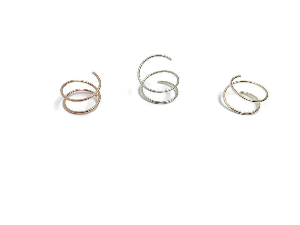 Marni LuHu Designs COIL Earrings set of 3