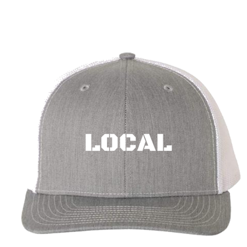 Heather Grey Trucker Hat