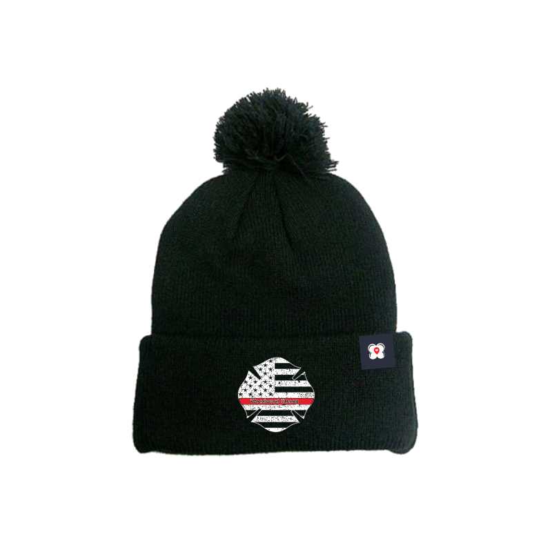 Woodward Strong Pom Beanie