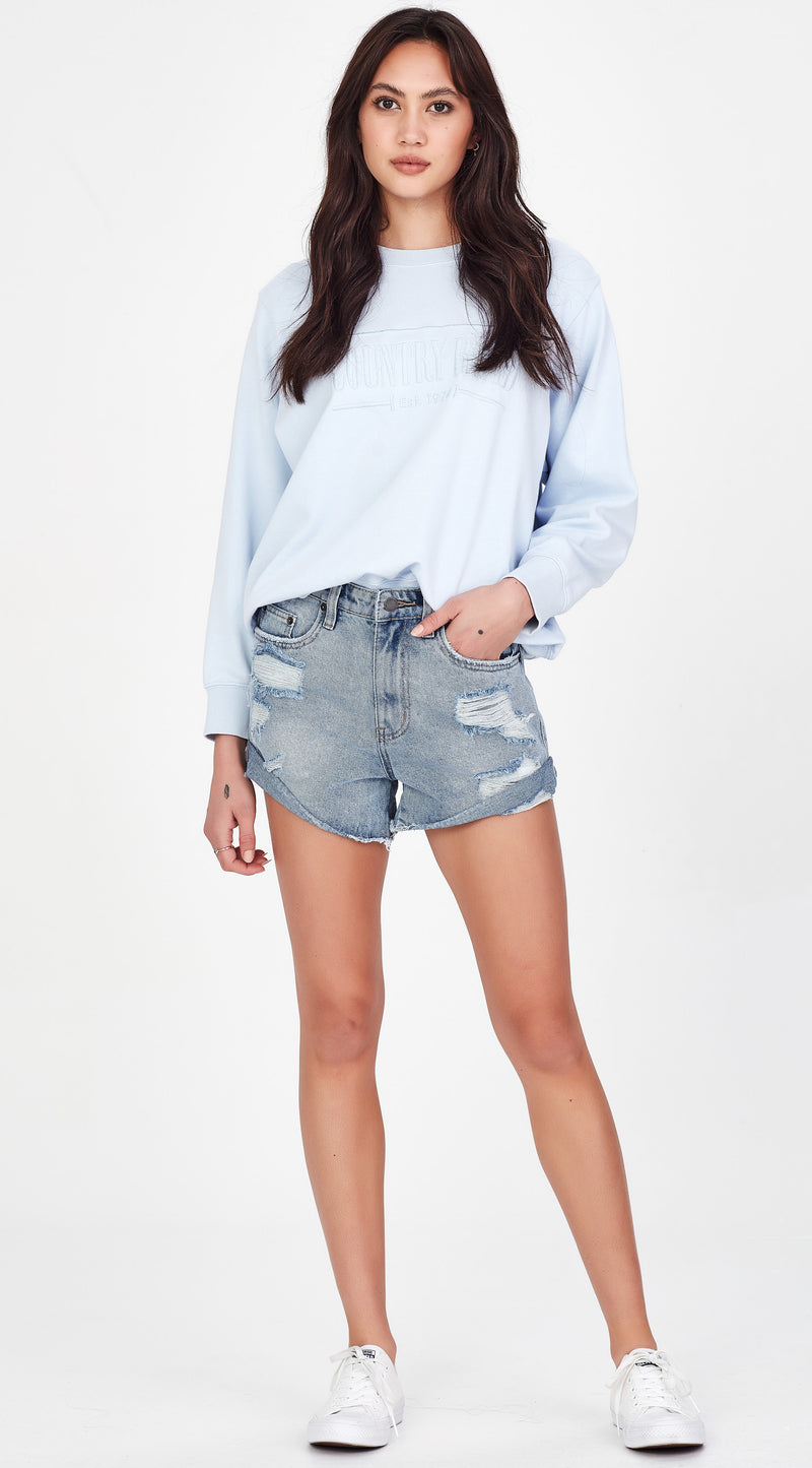 CASSIDY | Shorts Blue