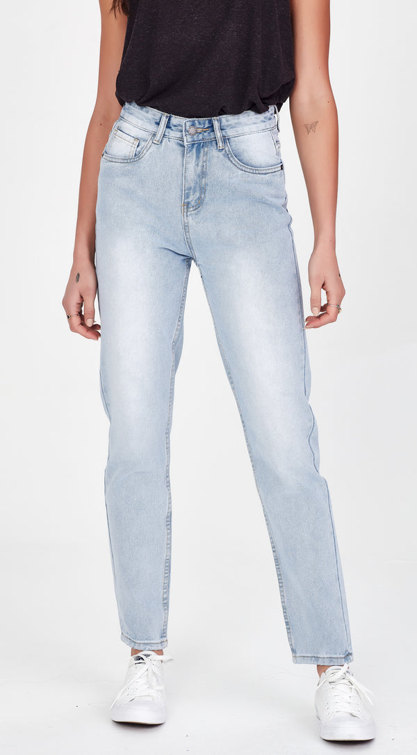 FREIDA | Mom Jean Pale Blue