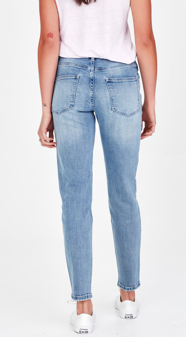 KAILEY | Blue Straight Leg Jean