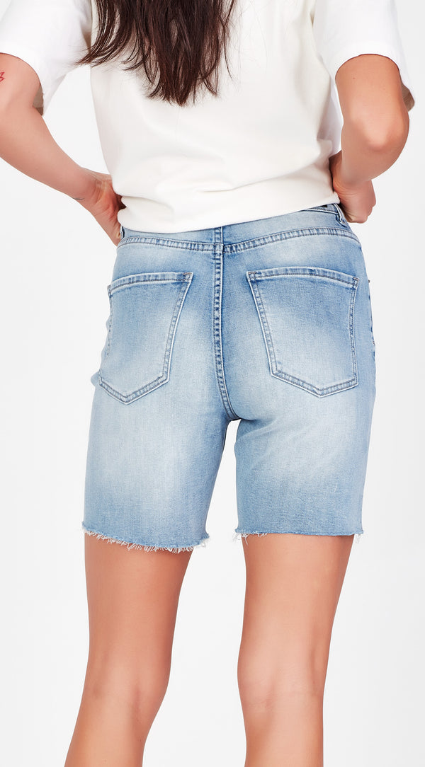 TINA Light Blue Shorts