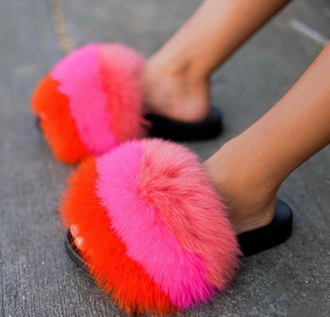You shouldn't have fox fur slides - Feeling Fanci