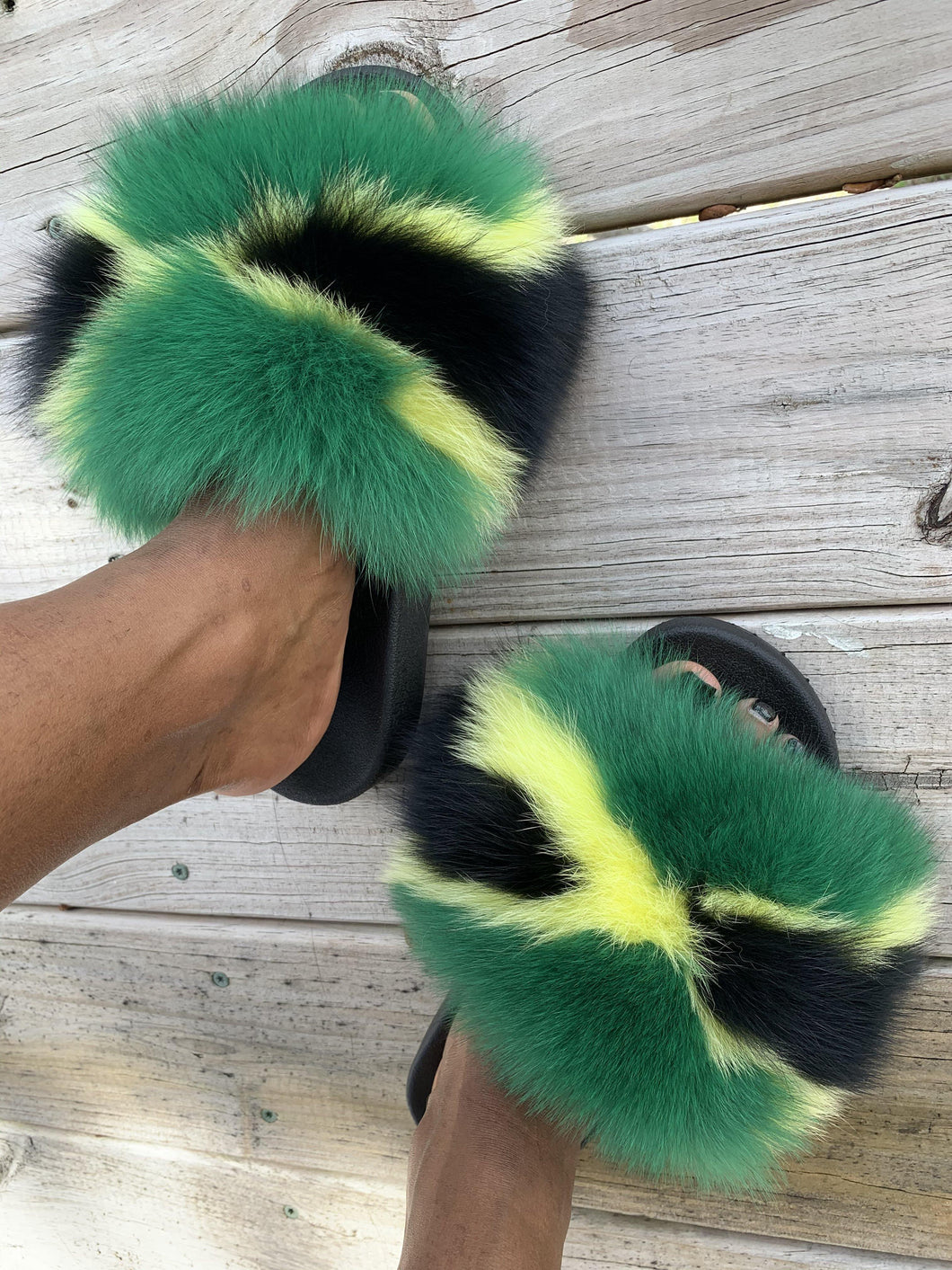 Jamaica faux slides
