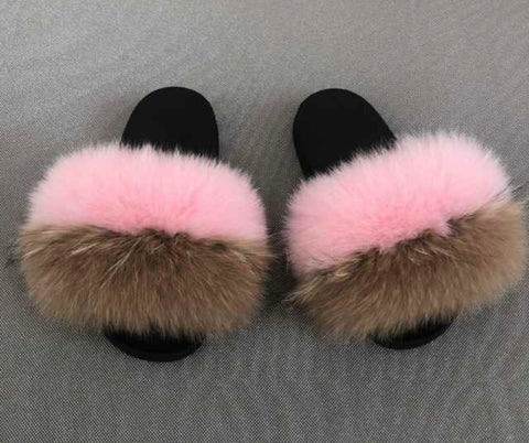 Good as gone fox fur slides
