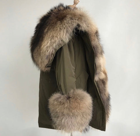 Kathy Ann Fur Hooded Parka
