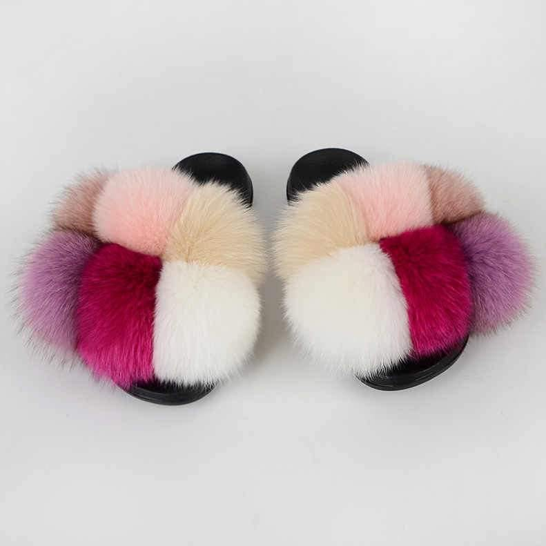 Ginza Pom faux slides