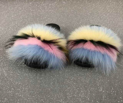 Still shot fox fur slides