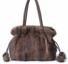 Load image into Gallery viewer, Budapest faux mink handbag
