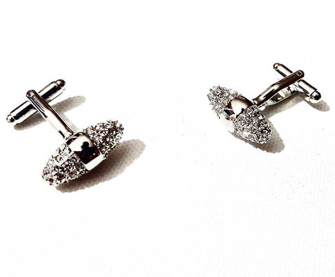 Silver Rocket | Cuff Links