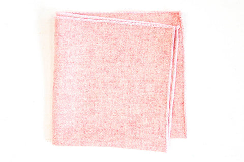 Pink Wool | Pocket Square