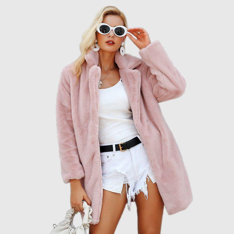 Plush Teddy Coat Coats & Jackets - Ultamodan