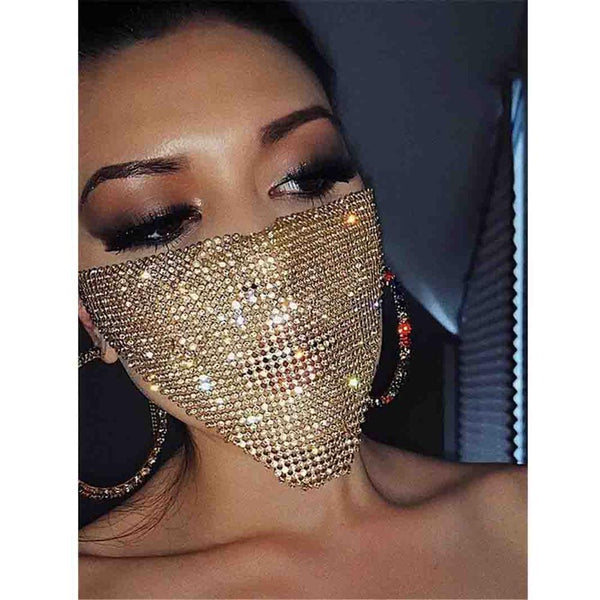Sequin Face Mask - Glitter Face Mask